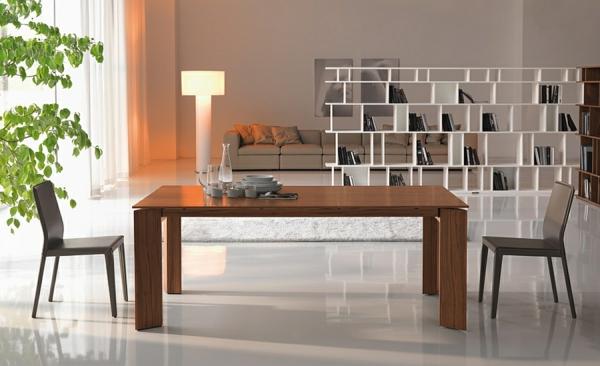 Moderne Esstische mit Stühlen holz simpel