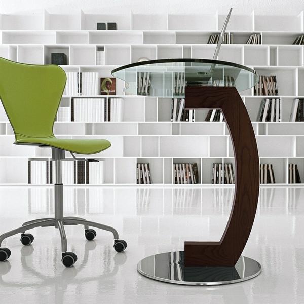 Moderne Esstische mit Stühlen regale wand grün stuhl