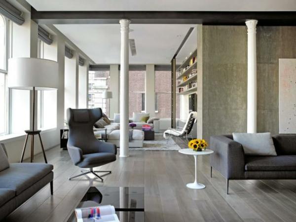 wandgestaltung modernes wohnen moderne inspiration wohnzimmer design - Wandgestaltung Modernes Wohnen