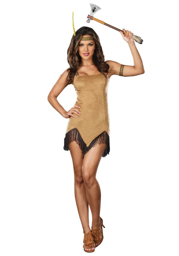 Pocahontas Kostüm zeichnung modell