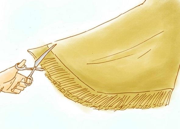 Pocahontas Kostüm zeichnung stoff gewebe