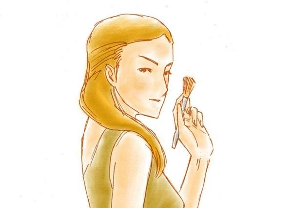 Pocahontas damen Kostüm zeichnung stoff schminken