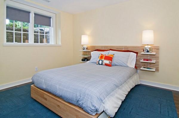 gem tliches schlafzimmer im keller einrichten. Black Bedroom Furniture Sets. Home Design Ideas