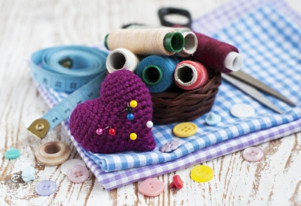 Schneiderpuppe DIY Materialien Wohnaccessoires Bastelideen für Erwachsene