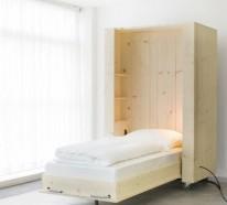 Schrankbett selber bauen – trendy, platzsparende Wohnideen