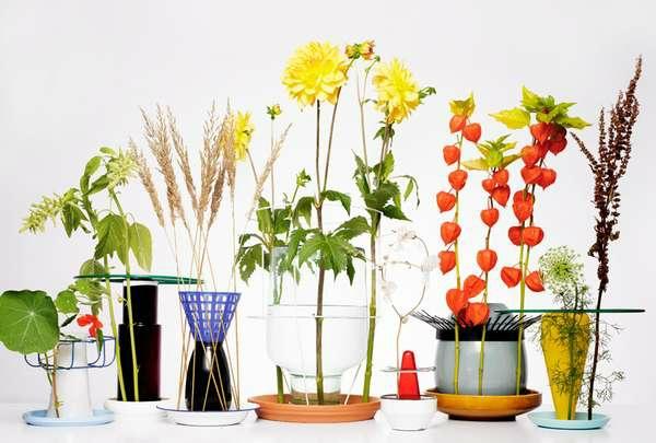 blüten zimmerpflanzen selber machen blumentöpfe