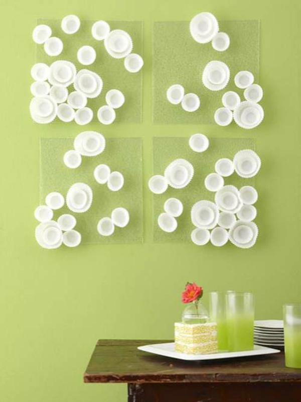 Wanddekoration selber machen anleitung  30 Wohnaccessoires selber machen - eigenartige, nützliche DIY Projekte