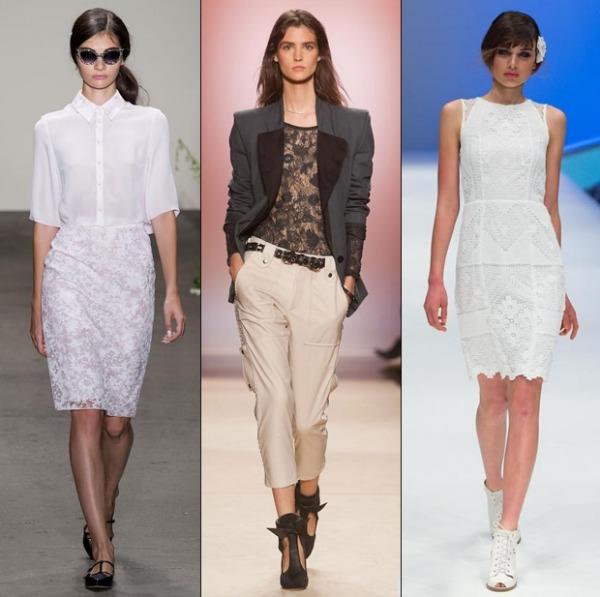 aktuelle modetrends ideen spitze kleidung