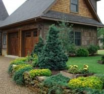 Gartengestaltung mit Kies und Steinen  – 25 Gartenideen für Sie