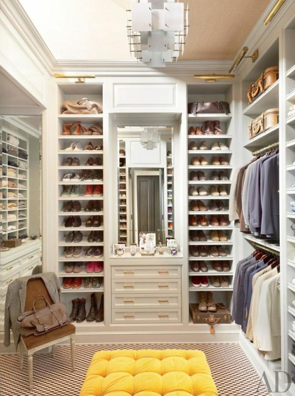 Begehbarer kleiderschrank ikea  Begehbarer Kleiderschrank - einen Ankleideraum planen und realisieren