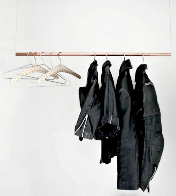 ankleideraum ideen kleiderständer selber bauen bastelideen