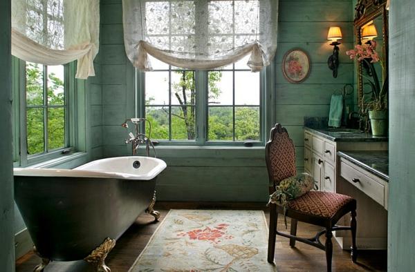 außerordentliches badezimmer mettalisch farbe badewanne