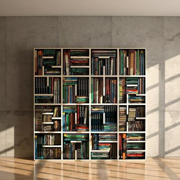 Stilvolle Bücherregalsysteme machen Ihr Haus gemütlich