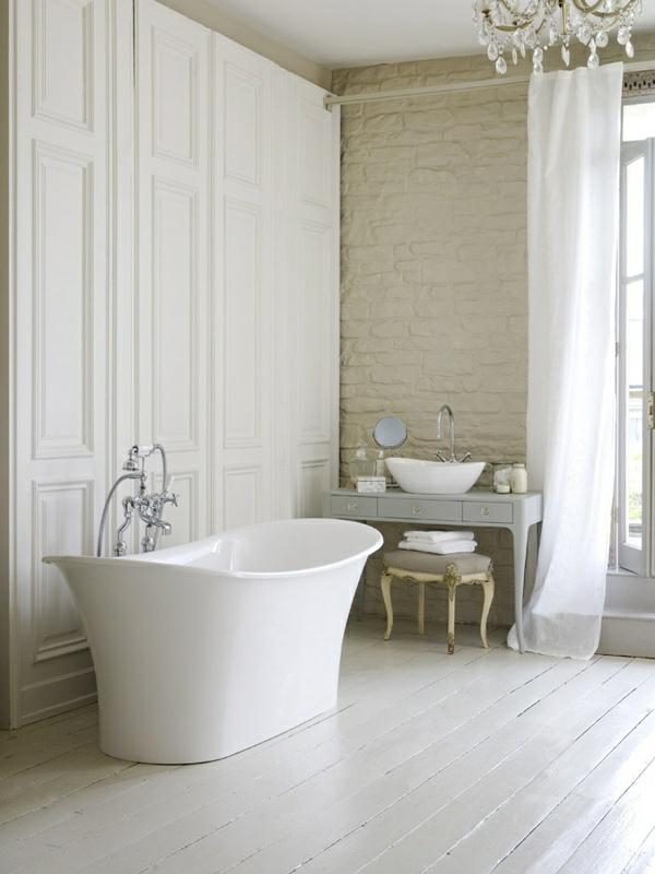 bad einrichten freistehende badewanne modernes badezimmer