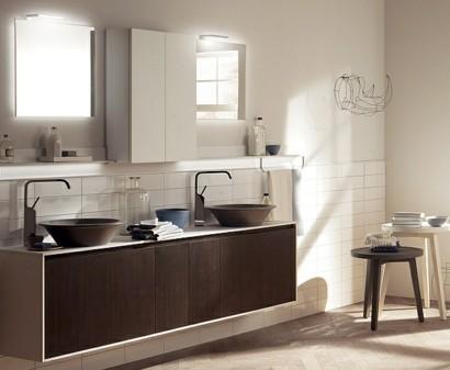 Minimalistische badezimmer ideen mit auff lliger sthetik for Moderne badeinrichtung