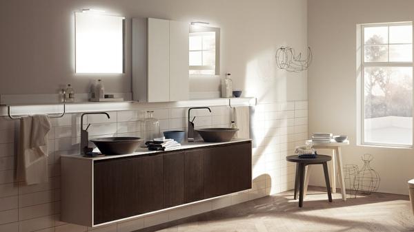 minimalistische badezimmer ideen mit auff lliger sthetik. Black Bedroom Furniture Sets. Home Design Ideas