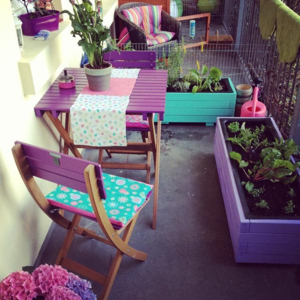 balkonm bel selber bauen. Black Bedroom Furniture Sets. Home Design Ideas