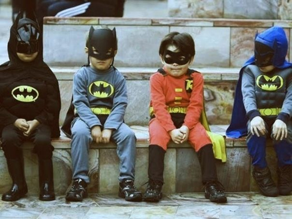 batman kostüme fasching thematische ideen