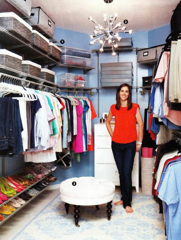 Regalsystem kleiderschrank ikea  Begehbarer Kleiderschrank - einen Ankleideraum planen und realisieren