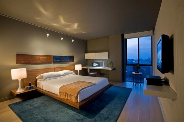 das schlafzimmer minimalistisch einrichten 50. Black Bedroom Furniture Sets. Home Design Ideas