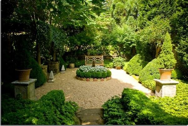 bilder vorgarten mit kies gestalten oase angenehm landschaft