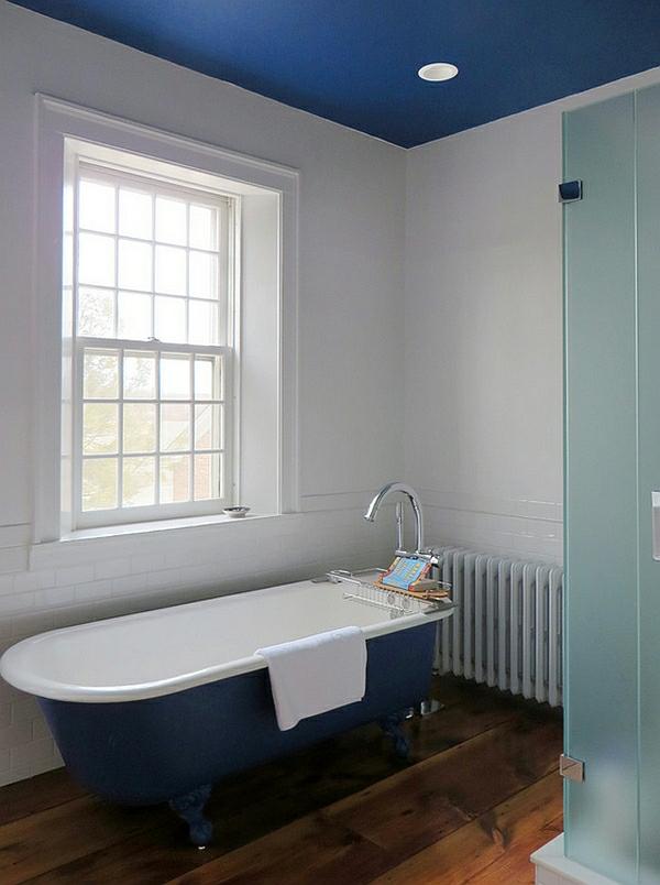 Farbige badewannen ideen f r moderne badezimmer - Badezimmerdecke erneuern ...