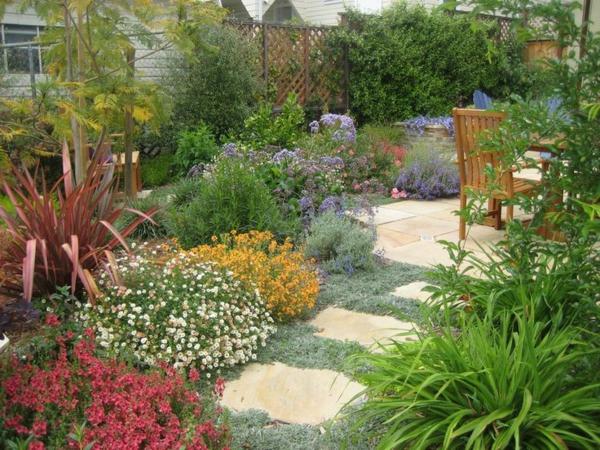 Mediterrane Gartengestaltung – 45 mediterrane Gartenideen und ...