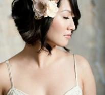 Brautfrisuren für kurze Haare – Haarschnitt Ideen und passende Haaraccessoires