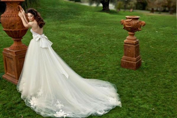 Brautkleid schleppe entfernen