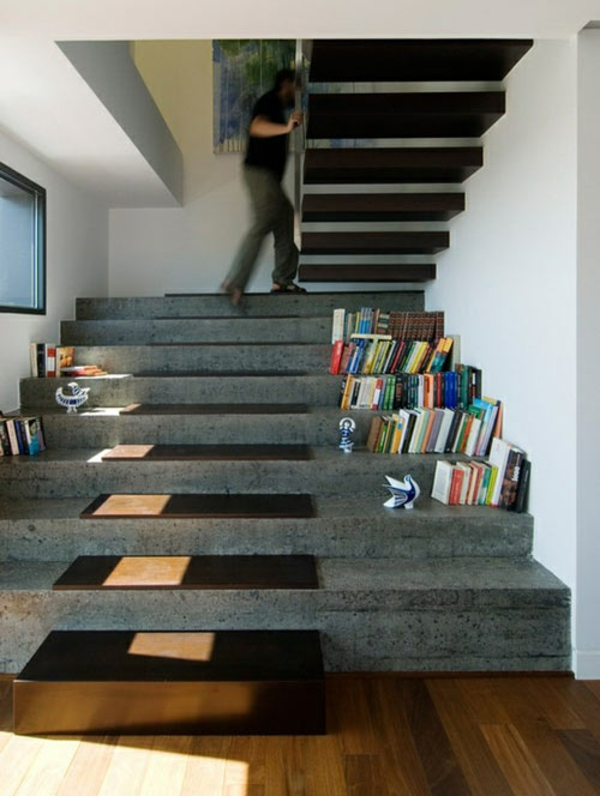 treppe idee stein. Black Bedroom Furniture Sets. Home Design Ideas