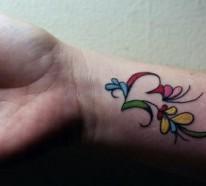 100 Ideen für Handgelenk Tattoo – werden Sie unique im Trend