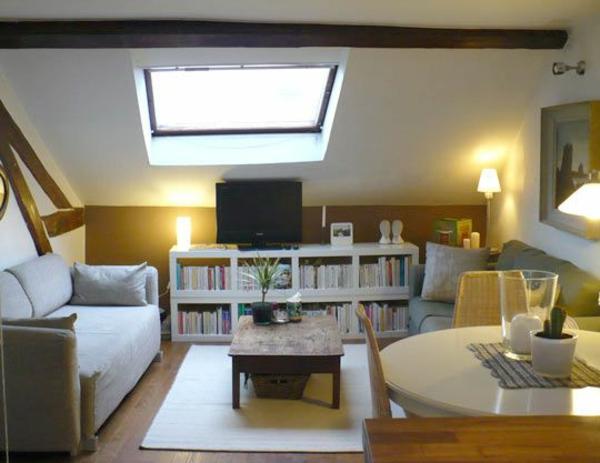 Dachwohnung einrichten 35 inspirirende ideen for Dachwohnung modern einrichten