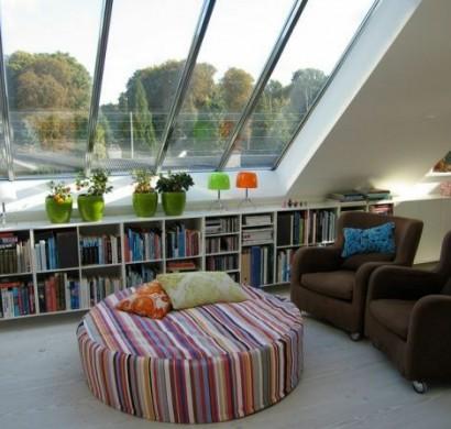 AuBergewohnlich Dachwohnung Einrichten U2013 35 Inspirirende Ideen