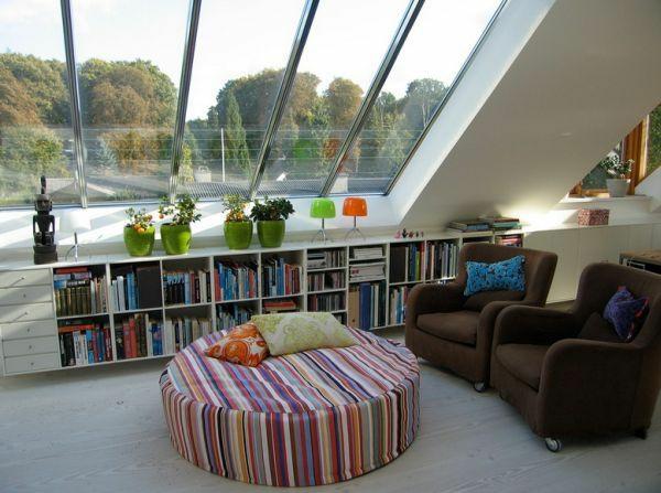 Dachwohnung Einrichten Wie Oase Dekoideen Sessel Stoof Tisch