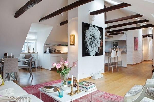 Dachwohnung einrichten 35 inspirirende ideen - Setting up an attic apartment ...