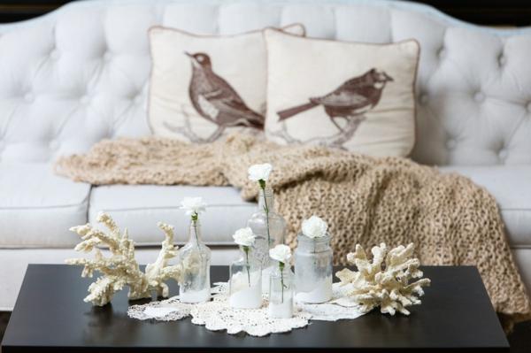 deko ideen wohnzimmer einrichten wohnideen sofa couchtisch