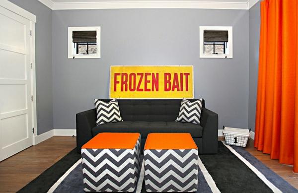dekoideen wohnzimmer design sofa