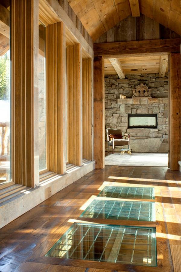 metall und holz geh ren zusammen im innendesign. Black Bedroom Furniture Sets. Home Design Ideas