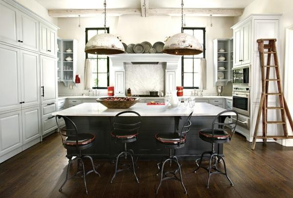 diy hängelampen industriell küche Pendelleuchten im Esszimmer