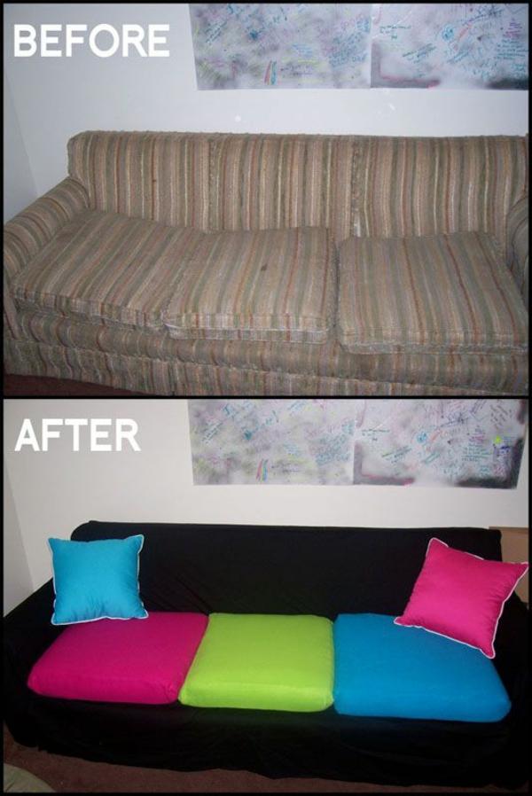 diy projekt sofa umwandeln sitzkissen