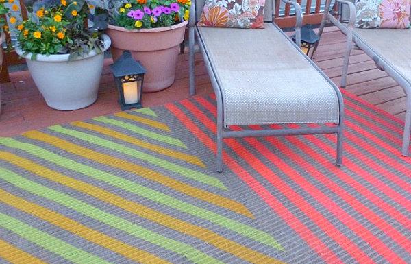 diy projekte auf der terrasse gartenmöbel set balkonpflanzen