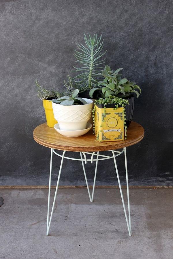 diy projekte garten bastelideen couchtisch balkonpflanzen