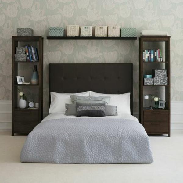Schlafzimmer Gestaltung Ideen Apricot Beige Braun ...