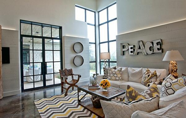 einrichtungsideen wohnzimmer interior design farben