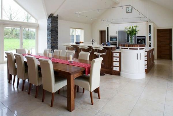 esstisch stühlen polstermöbel moderne Küchengestaltung Ideen