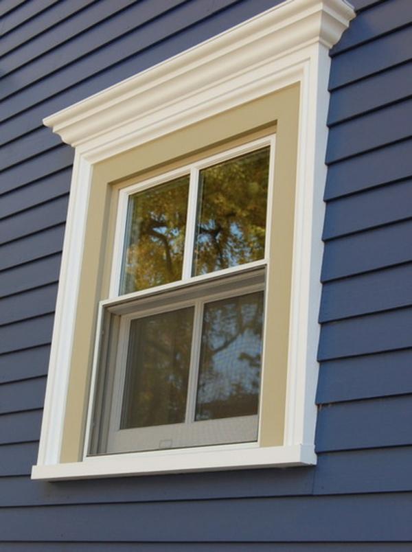 exterior design ideen blaues haus