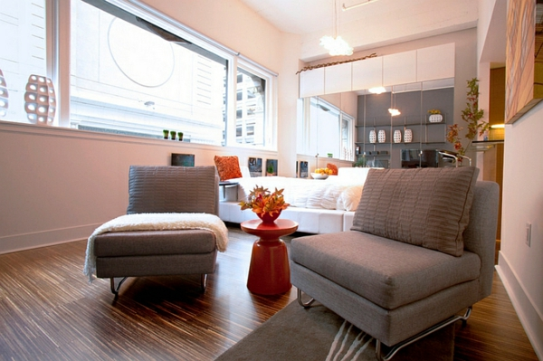 farben wohnzimmer sessel beistelltisch