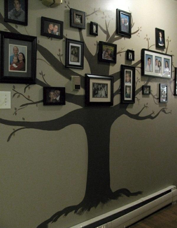 Flur Farblich Gestalten : Wandtattoos nimmt man als eine tolle Dekoration für kleine Räume an