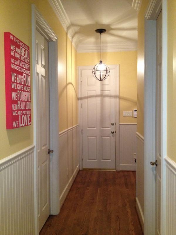 Wohnideen schmalen korridor