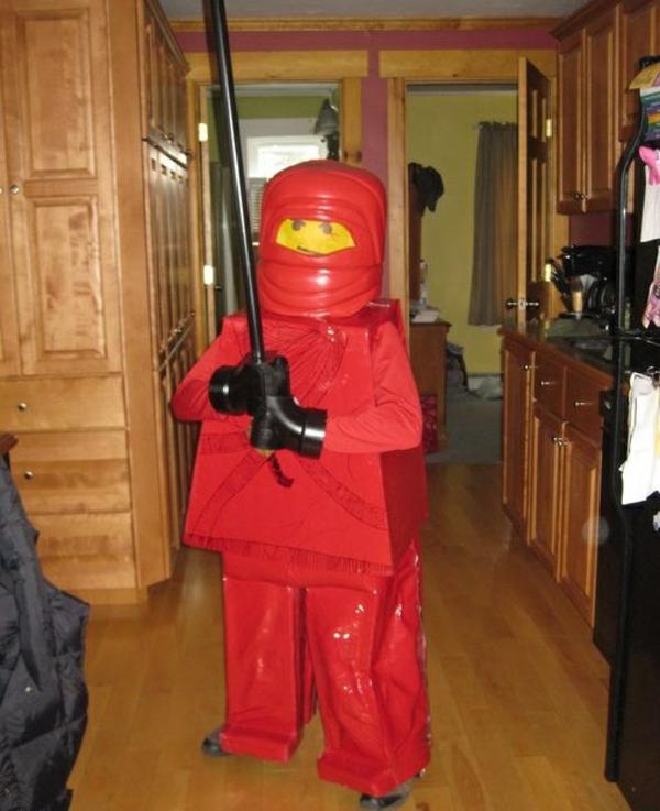 fasching kostüme für jungen lego ninja